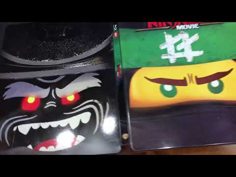 The LEGO Ninjago Movie Steelbook Blu Ray Unboxing (Best Buy Exclusive)