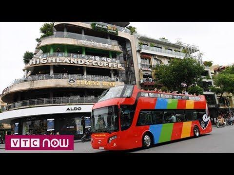Hà Nội: Xe buýt 2 tầng chính thức hoạt động | VTC1 - Thời lượng: 60 giây.