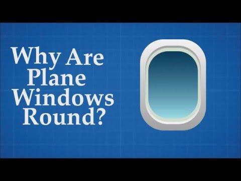 一直很好奇「為什麼飛機的窗戶都要設計成橢圓形」,知道原因後才發現乘客的性命都在靠它啊!