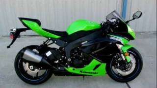 7. Overview and Review of the 2012 Kawasaki ZX6R Ninja Supersport 600 in Lime Green
