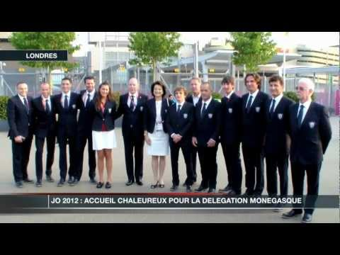 JO 2012 : la dlgation mongasque est  Londres