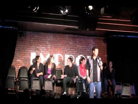 Flip Orley: Just Now - A very offensive moment at the Addison Improv - unedited.wmv