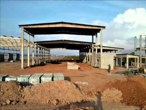 Construção da Refinaria de Sal Costa Branca - Porto do Mangue/RN