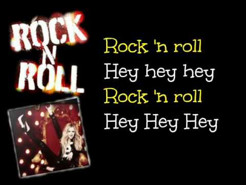 Rock N Roll – Avril Lavigne – Lyrics On Screen