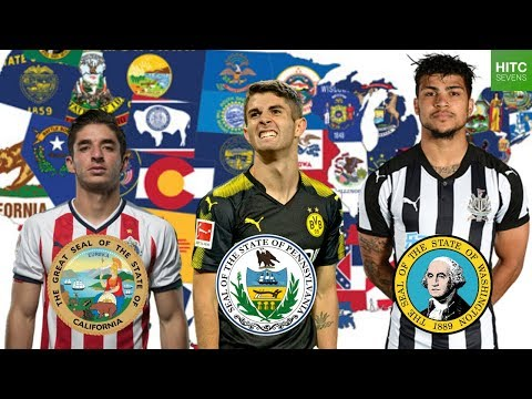 Best Soccer Player From EVERY U.S. State (видео)