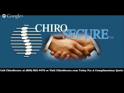 Chiropractic Malpractice Insurance