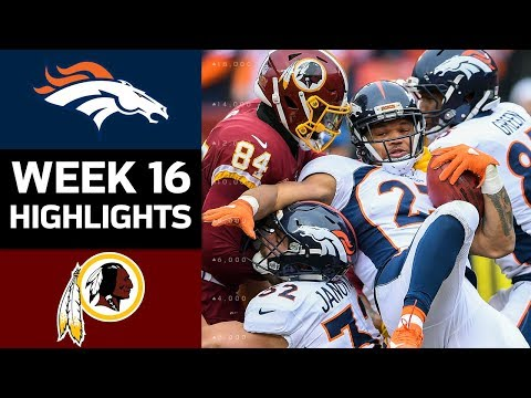 Video: Broncos vs. Redskins | NFL Week 16 Game Highlights
