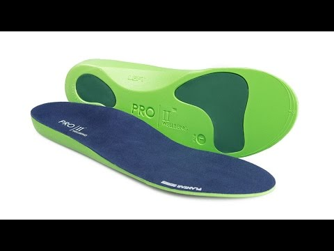 Pro 11 Wellbeing Plantar Series Orthotic Insoles in 4K