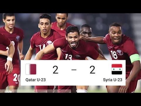 U23 AFC 2020, Qatar vs Syria | Highlights and Goals