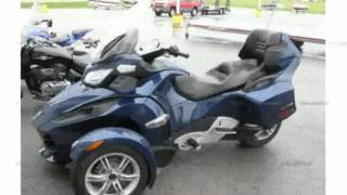 1. 2010 Can-Am Spyder Roadster RT Audio And Convenience - Features, Details