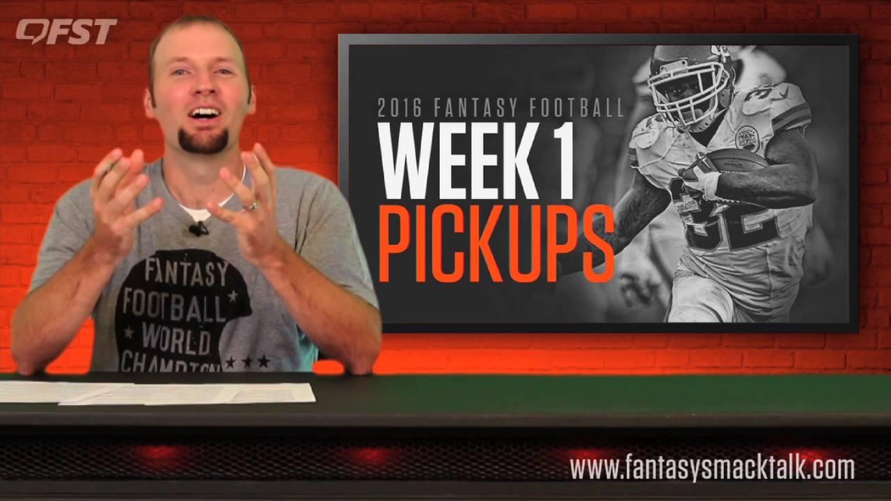 Fantasy Football: Week 1 Waiver Wire thumbnail