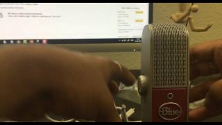UNBOXING : Rasberry Blue : Premium Mobile USB Microphone for PC, Mac, iPod, iPhone, iPad