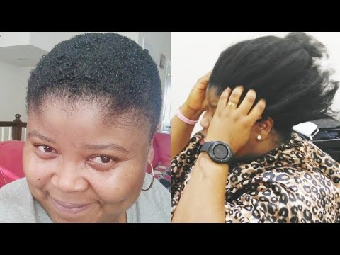 Short hair styles - MY BIG CHOP  WASH N GO STYLING ON SHORT HAIR  MY SUMMER NEW LOOK