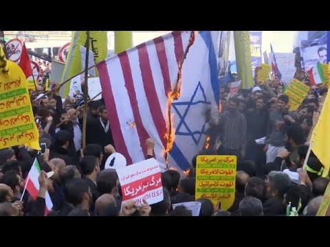 Τεχεράνη: «Θάνατος στην Αμερική και στο Ισραήλ» φωνάζουν διαδηλωτές…