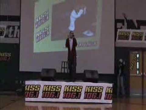 KISS 106.1 Seattle - Frankie J at Jackson High School Part 2