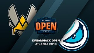 Vitality vs Luminosity - DreamHack Open Atlanta 2018 Grand final - map1 - de_mirage [Enkanis]