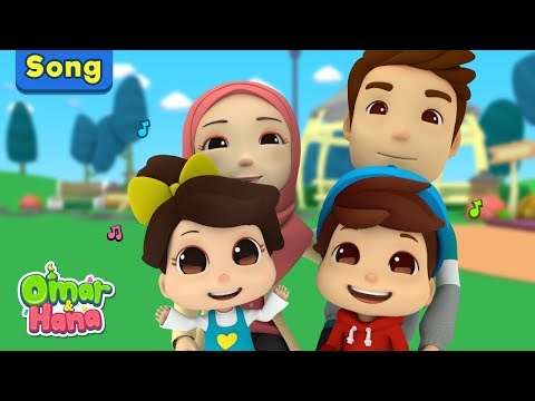 Islamic Cartoons For Kids | We Love Mommy And Daddy | Omar & Hana