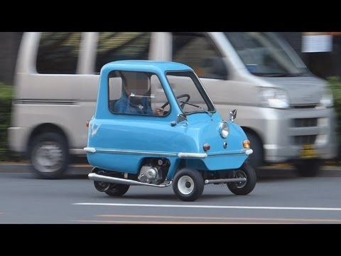 Smallest Car in the World Peel P50