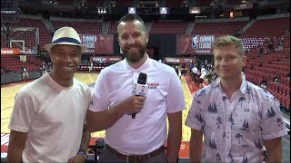 Paul Jones, Matt Tierney and Randy Urban have the latest from NBA Summer League as the Raptors fall 91-85 against Portland. Toronto will play a final consolation match against the Cavaliers on Friday.