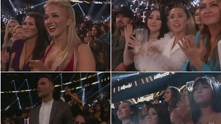 Crowds reaction when BTS won Top Social Artist Award #BBMAs