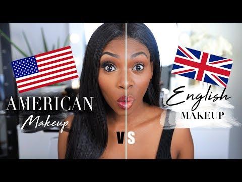 AMERICAN VS BRITISH MAKEUP! I Hope I'm not offending anyone!