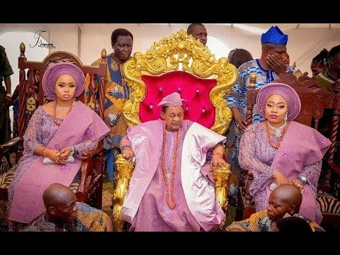 80th Birthday Of Alafin Oyo   The Swag,  Efficy, And Wife's  Of Oba Lamidi Adeyemi