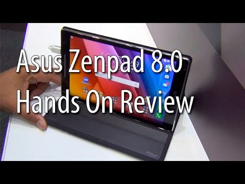 Asus Zenpad 8.0 India Hands On Review