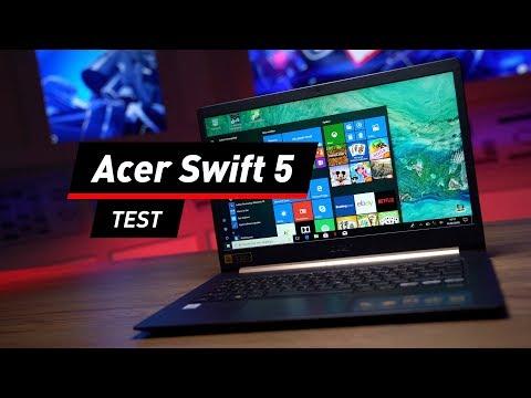 Acer Swift 5 im Test: Fliegengewicht mit Power