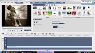 การตัดต่อวีดีโอ ด้วยโปรมแกรม Ulead.flv