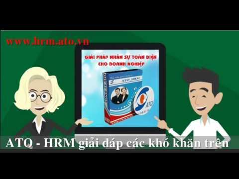 Giới thiệu phần mềm quản lý nhân sự ATO.HRMs ...