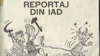 România în tranziţie. Scălămbăieli ale comicului Florin Axinte Petrescu la Piteşti, în 1990.