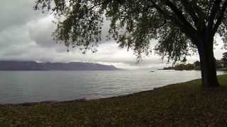 Acampar al lado de un lago