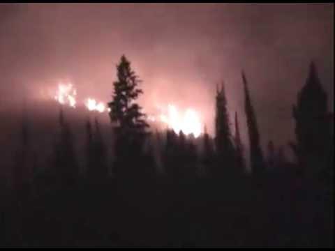 Jacko Lake Fire - 2007