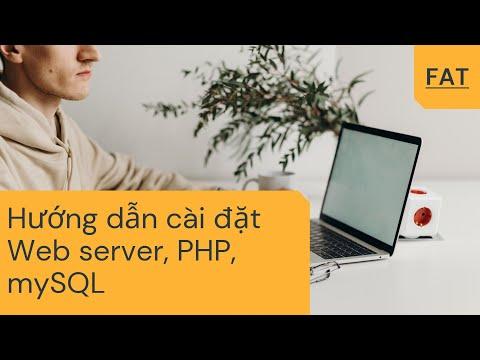 Hướng dẫn cài đặt web server, php, mysql trên windows server 2008 R2