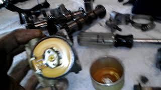 8. Kawasaki mule won't start carb n bad gas n rust in tank