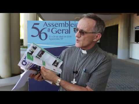 Novo bispo envia mensagem ao povo da Diocese de Joinville