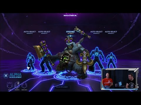 to the stage - The Game Director of Heroes of the Storm, Dustin Browder, brought the latest build to the GameSpot stage at PAX. Visit all of our channels: Features & Reviews - http://www.youtube.com/user/gamespo...