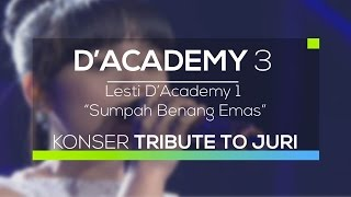 Video Lesti D'Academy - Sumpah Benang Emas (D'Academy 3 - Konser Tribute to Juri) MP3, 3GP, MP4, WEBM, AVI, FLV September 2018