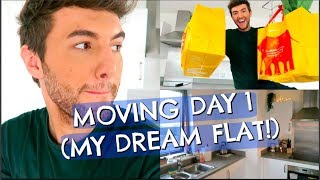 MOVING DAY 1 (MY DREAM FLAT)