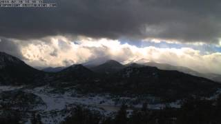 2014-02-10 - Estes Park RMNP Longs Peak Time-Lapse
