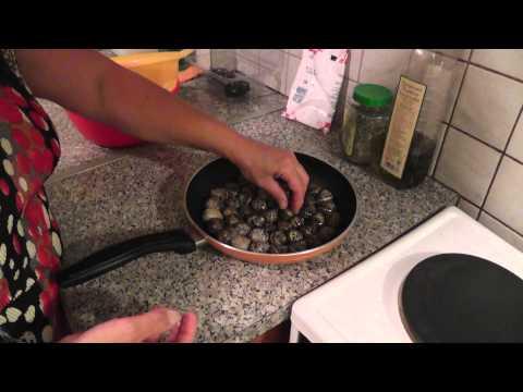 Приготовление улиток в домашних условиях