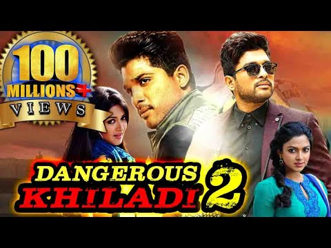 Dangerous Khiladi 2 (Iddarammayilatho) Hindi Dubbed Full Movie   Allu Arjun, Amala Paul, Catherine