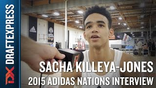Sacha Killeya-Jones 2015 Adidas Nations Interview