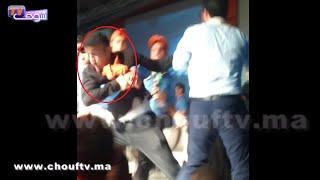 بالفيديو..الشوهة في حزب مغربي.. عنف و تكسير أجهزة plasma