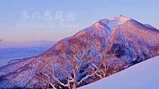 Eniwa Japan  city photos : 冬の恵庭岳 Mt. Eniwa in Winter - Timelapse/Hyperlapse Hokkaodo -