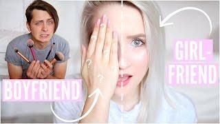 Video GIRLFRIEND vs BOYFRIEND Does My Makeup | Sophie Louise MP3, 3GP, MP4, WEBM, AVI, FLV Januari 2018