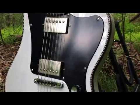 Destroy All Guitars - Red Rocket Darkburst GoldFoil Atomic Tele