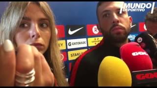 """Alba: """"No creo que sea una broma lo de Piqué"""" Más información en http://www.mundodeportivo.com/ Síguenos en Facebook..."""