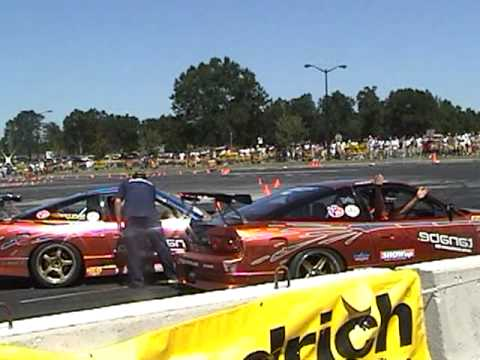 Signal Auto Silvias impromptu awesome drift show at 2004 Nopi Nationals