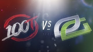 Video 100 vs OPT - NA LCS Week 1 Day 1 Match Highlights (Spring 2018) MP3, 3GP, MP4, WEBM, AVI, FLV Juni 2018